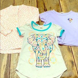 Lot of girls tee shirts 6-7